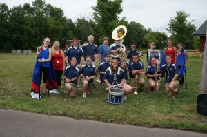 The Unity Marching Band, under the direction of Jacob Kobberdahl, has performed the summer at area parades including Memory Days in Centuria